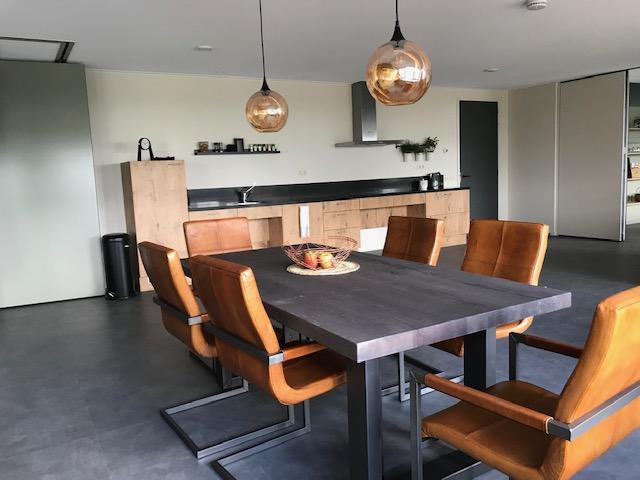 vakantiewoning 4 pers woonkamer keuken