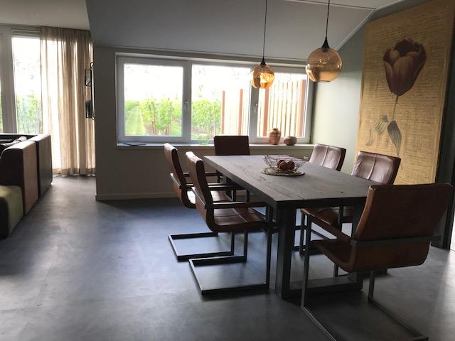vakantiewoning 4 pers woonkamer